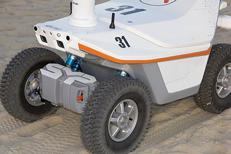 Models of Security Patrol Robots