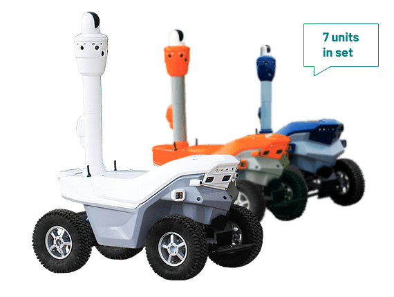 Robotic Security System Set